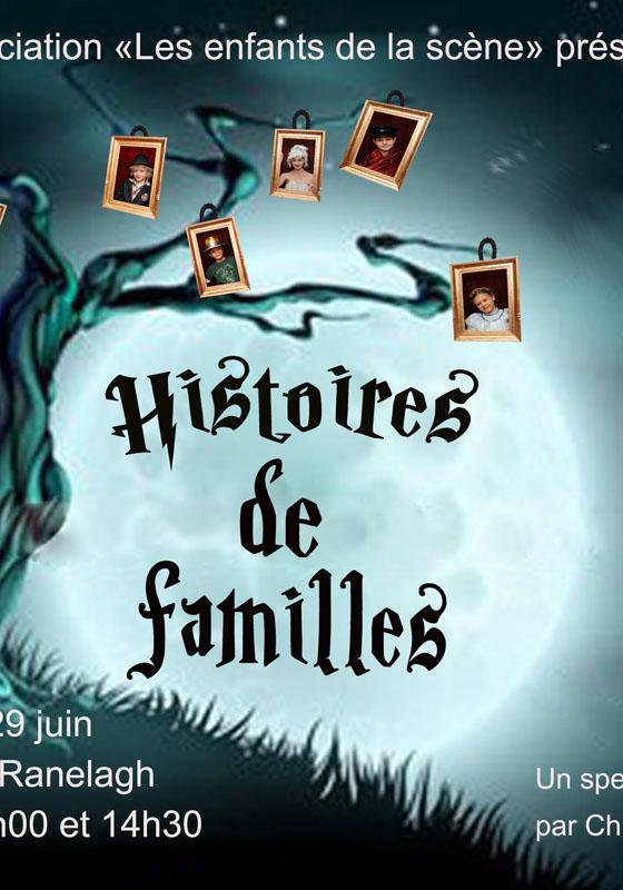 Histoires de Famille, Les Enfants de la Scène 2014