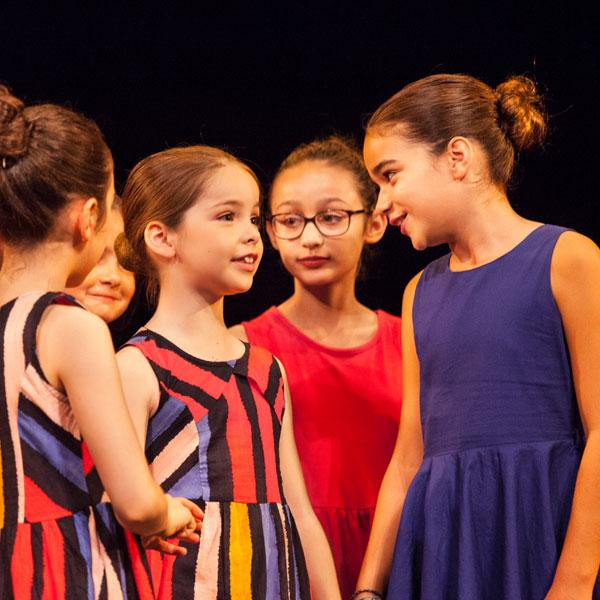 Cours de théâtre pour enfants à Paris 16 - les enfants de la scène