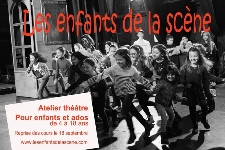 Atelier théâtre pour enfants et ados