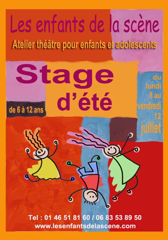 Stage théâtre enfants ados