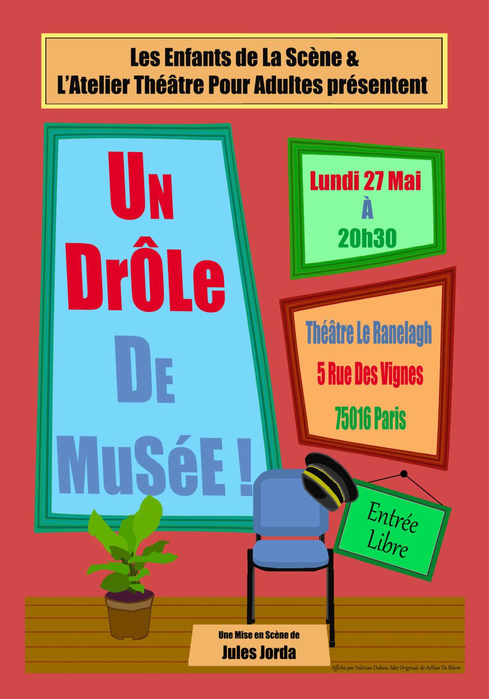 spectacle cours de théâtre adultes paris 16