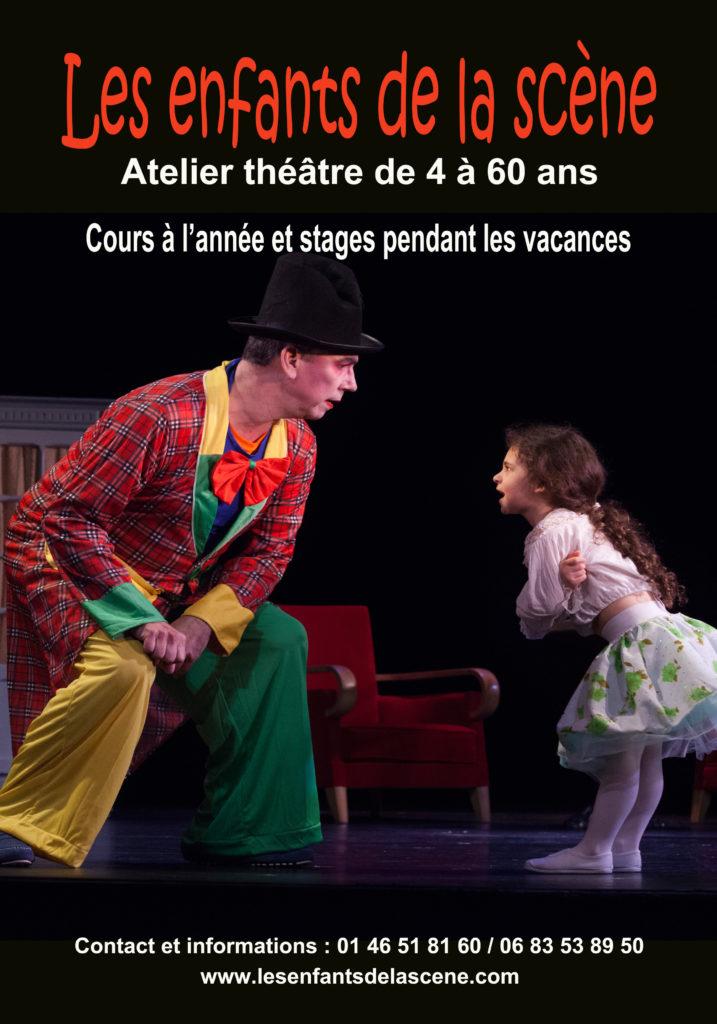Rentrée des cours de théâtre pour les enfants de la scène