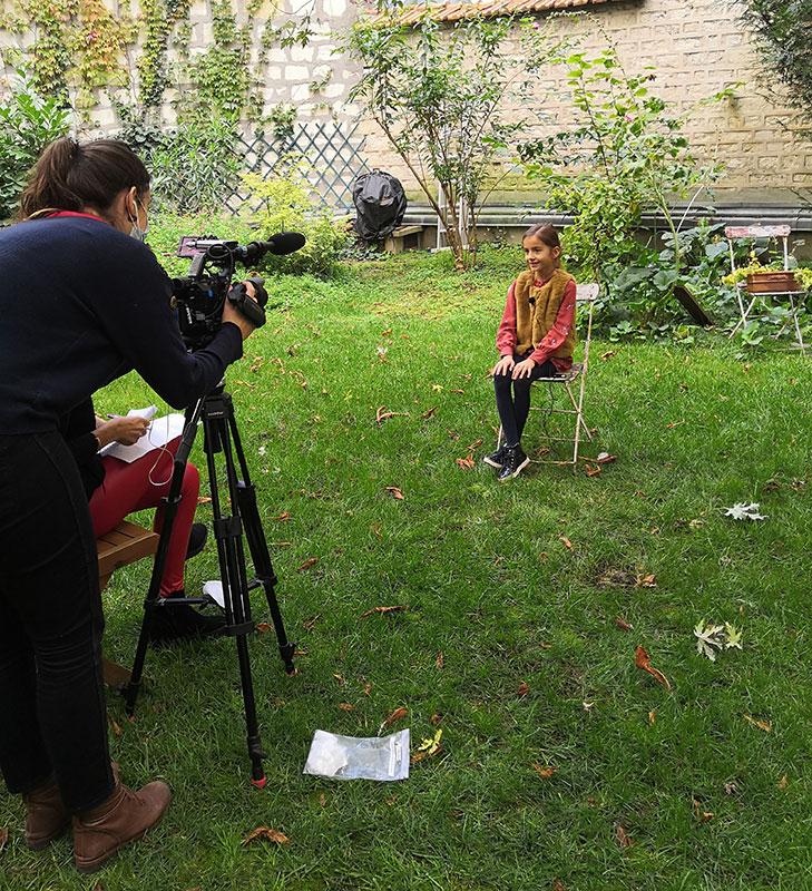 Une Enfant de la Scène interviewé par l'émission La Maison des Parents @Andraa Kanengiseser