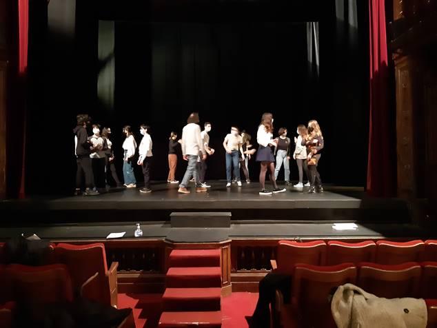 Répétition au Théâtre Ranelagh