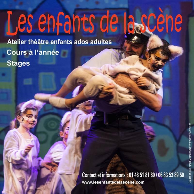 Cours de théâtre enfants ados adultes - Rentrée 2021